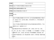 kok平台app三木气体有限公司经营危险化学品kok30 app评价报告